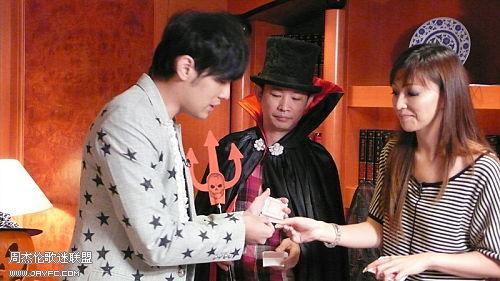 杰伦跟TVB主持人王殷廷的合照 人气:1474